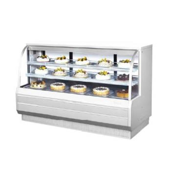 TURTCGB72COWN - Turbo Air - TCGB-72CO-W-N - 72 in Dual-Zone Bakery Case Product Image