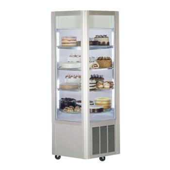 "FEDHXR3575 - Federal - HXR-3575 - Carousel 35"" x 75"" Refrigerated Revolving Merchandiser Product Image"