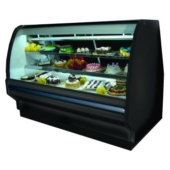 HWDSCCBS40E6CBLS - Howard McCray - SC-CBS40E-6C-BE-LED - 75 x 53 in Black Bakery Case Product Image