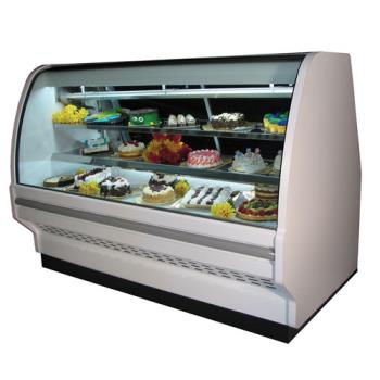 HWDSCCBS40E8CLS - Howard McCray - SC-CBS40E-8C-LED - 99 in x 53 in White Bakery Case Product Image