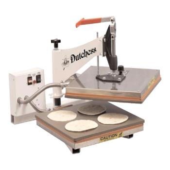 "DBEDUTTXM15 - Dutchess - DUT/TXM-15 - 15"" Square Manual Tortilla Press Product Image"
