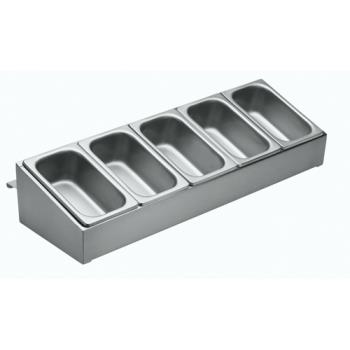 KROC32 - Krowne - C-32 - Stainless Steel Condiment Rack Product Image