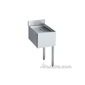 KRO1812DDR - Krowne - 18-12DDR - 1800 Series Add-On Drainboard w/ Right Leg Product Image