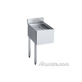 KRO2112DDL - Krowne - 21-12DDL - 2100 Series Add-On Drainboard w/ Left Leg Product Image