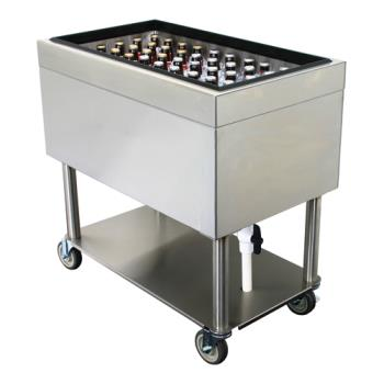 GLTIBM18X30 - Glastender - IBM-18X30 - Mobile Ice Bin Product Image