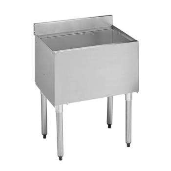 "KRO2124DP7 - Krowne - 21-24DP-7 - 2100 Series 24"" Cold Plate Insulated Ice Bin Product Image"