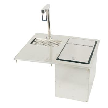 11573 - Supreme Metal - D24WSIBL - Drop-In Glass Filler Station w/ Ice Bin Product Image