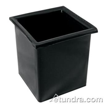 BARCR2401 - Bar Maid - CR-2401 - Square Black Bottle Well Product Image