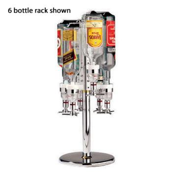WOR4405704 - World Cuisine - 44057-04 - 4-Bottle Revolving Rack Product Image