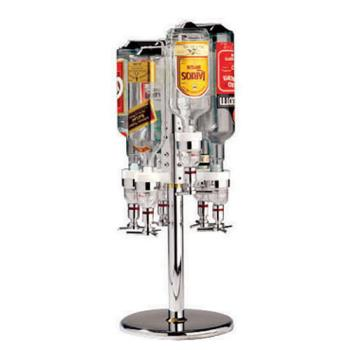 WOR4405706 - World Cuisine - 44057-06 - 6-Bottle Revolving Rack Product Image
