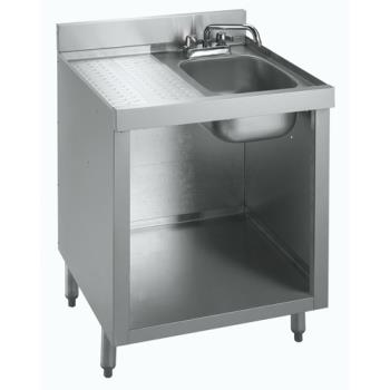 KRO18GW2 - Krowne - 18-GW2 - 1800 Series Glass Washing Cabinet w/ Sink Product Image