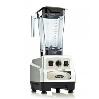 OMJBL460S - Omega - BL460S - 64 oz 120V 3 HP Pulse Silver Blender Product Image