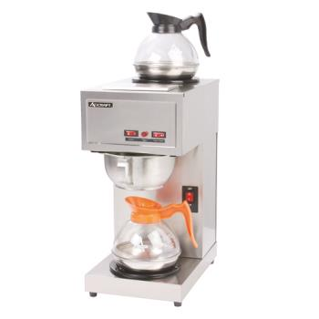 95292 - Adcraft - CBS-2 - Pourover Coffee Brewer w/ 2 Warmers Product Image