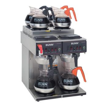 BUN234000011 - Bunn - 23400.0011 - Dual 12 Cup Automatic Coffee Brewer w/ 6 Warmers Product Image