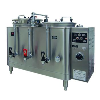 GRI7773E - Grindmaster - 7773E - 3 Gallon Double Automatic Coffee Urn Product Image