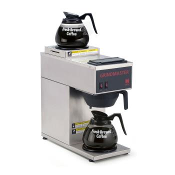 GRICPO2P15A - Grindmaster - CPO-2P-15A - Pourover Coffee Brewer w/ 2 Warmers Product Image