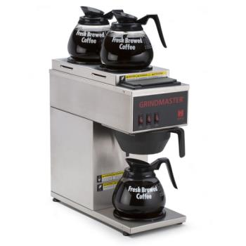 GRICPO3P15A - Grindmaster - CPO-3P-15A - Pourover Coffee Brewer w/ 3 Warmers Product Image