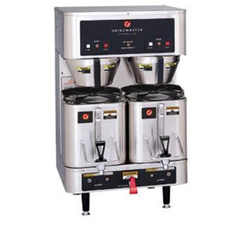 GRIP400E - Grindmaster - P400E - Columbia Series Twin Shuttle Coffee Brewer Product Image