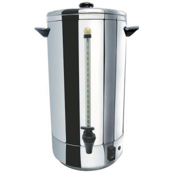 99269 - Winco - CU-72 - 72 Cup Stainless Steel Double-Wall Coffee Urn Product Image