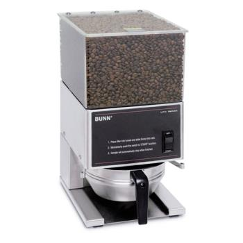 BUN205800001 - Bunn - LPG-0001 - Single Hopper Low Profile Portion Control Coffee Grinder Product Image