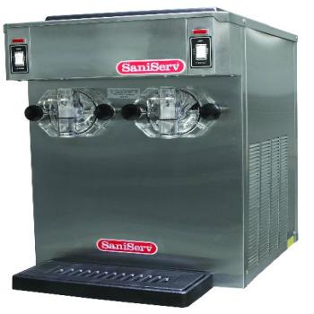 SNS791 - SaniServ - 791 - Countertop Twin 10 Gal/Hr 14 Qt Frozen Beverage Machine Product Image