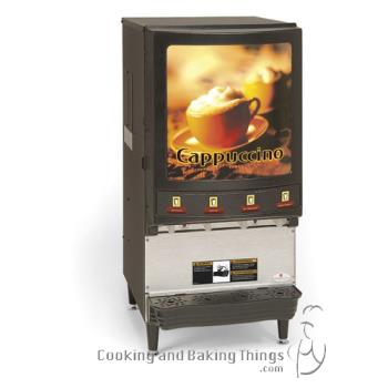 GRIPIC4 - Grindmaster - PIC4 - 4 Flavor Hot Chocolate/Cappuccino Dispenser Product Image