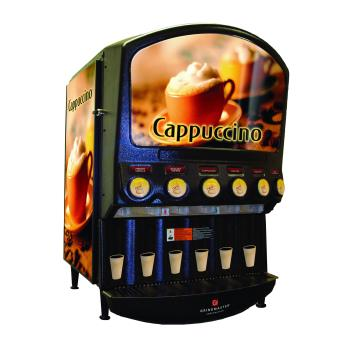 GRIPIC6 - Grindmaster - PIC6 - 6 Flavor Hot Chocolate/Cappuccino Dispenser Product Image