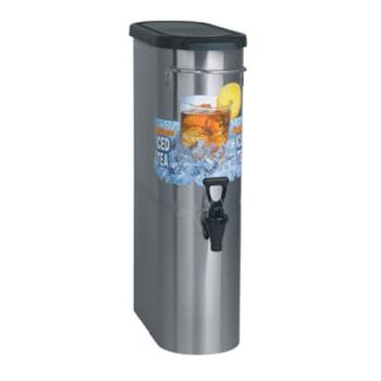 95314 - Bunn - TDO-N-3.5-0001 - 3 1/2 Gallon Narrow Oval Iced Tea Dispenser Product Image