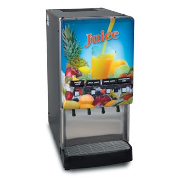 BUN373000000 - Bunn - JDF-4S-0000 - Silver Series™ 4 Flavor Cold Beverage System Product Image
