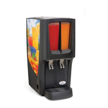 GRIC2S16 - Crathco - C-2S-16 - G-Cool™ Mini-Duo™ Double Bowl Beverage Dispenser Product Image
