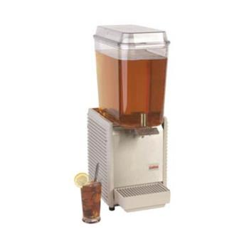 95446 - Crathco - D15-3 - 1 Bowl Refrigerated Beverage Dispenser with Stainless Steel Side Panels Product Image