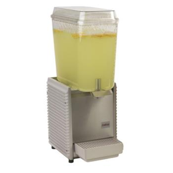 95449 - Crathco - D15-4 - 1 Bowl Refrigerated Beverage Dispenser with Plastic Side Panels Product Image