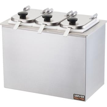 SVP80520 - Server - 80520 - Drop-In Bar Combo w/(3) Jars & Ladles Product Image