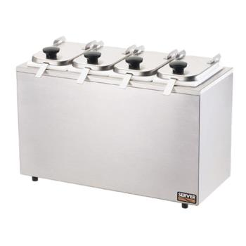 SVP80550 - Server - 80550 - 4-Jar Rail System w/Lids & Ladles Product Image
