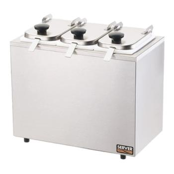 SVP80560 - Server - 80560 - 3-Jar Rail System w/Lids & Ladles Product Image