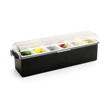 VOL474301 - Vollrath - 4743-01 - 6 Compartment Condiment Server Product Image