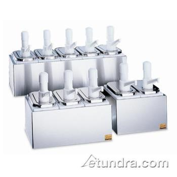 SANP9712 - San Jamar - P9712 - Double 2 1/2 Qt Condiment Pump Service Center Product Image