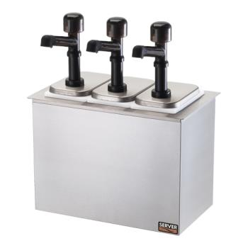 SVP79820 - Server - 79820 - Drop-In Bar Combo w/(3) Jars & Solution™ Pumps Product Image