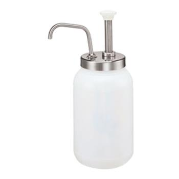 263776 - Server - 83110 - Stainless Steel 120 mm Jar Condiment Pump Product Image