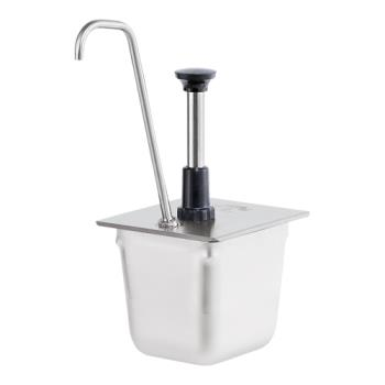 SVP83433 - Server - 83433 - Stainless Steel 1/6 Size Steam Table Pan Pump w/Tall Spout Product Image