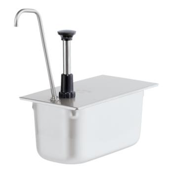 SVP83441 - Server - 83441 - Stainless Steel 1/3 Size Steam Table Pan Pump w/Tall Spout Product Image