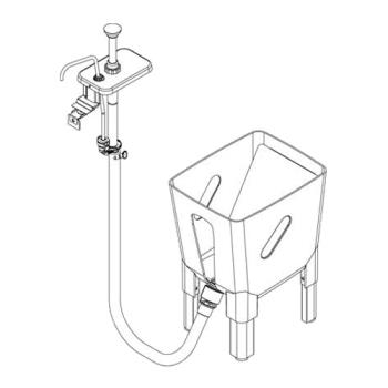 SVP85783 - Server - 85783 - Remote 3 Gallon Dispensing System For 1 Pump to 1 Pouch Product Image