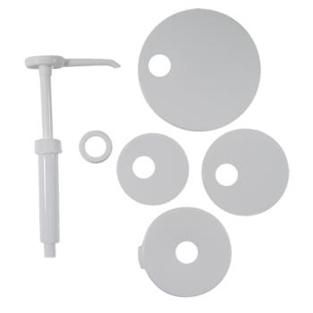 66301 - Tablecraft - 662K - Economy Condiment Pump Kit Product Image
