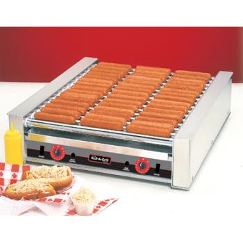 "NEM8045N - Nemco - 8045N - 22"" 45 Hot Dog Roller Grill Product Image"