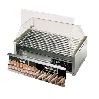 STA50SCBD - Star - 50SCBD - Grill-Max Pro® 50 Hot Dog Roller Grill w/ Bun Drawer Product Image