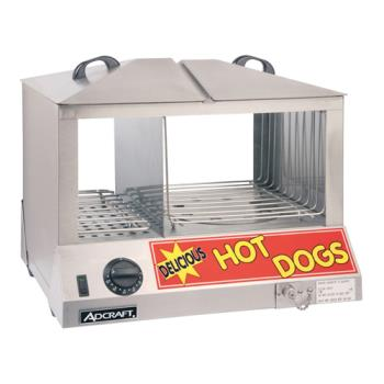 21221 - Adcraft - HDS-1200W - Hot Dog Steamer Product Image