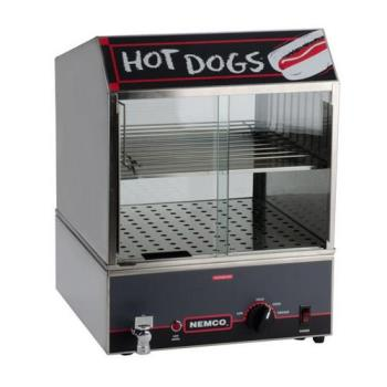 NEM8300220 - Nemco - 8300-220 - 220 Volt Hot Dog Steamer Product Image