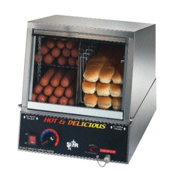 95327 - Star - 35SSA - Hot Dog & Bun Steamer - 170 Capacity Product Image