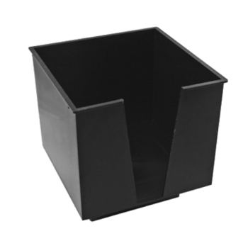 67199 - Bar Maid - CR-1273 - 1 Compartment Black Napkin Holder Product Image