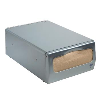 76525 - Tork - 13CBS - Brushed Steel Minifold™ Counter Napkin Dispenser Product Image